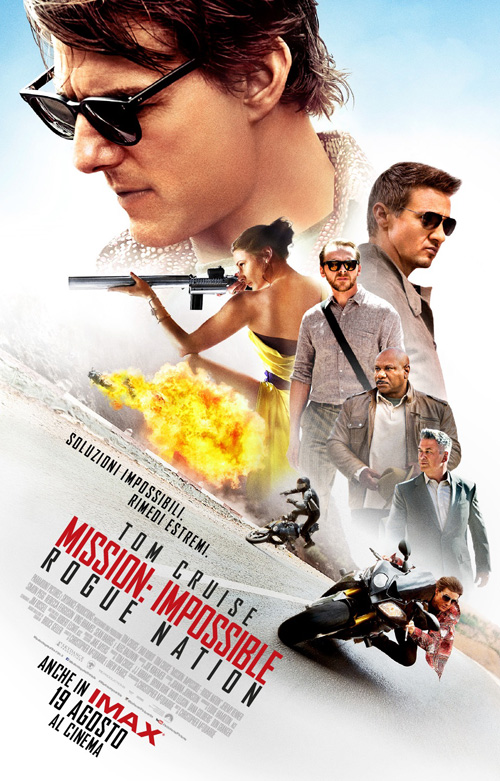 Mission: Impossible - Rogue Nation (3 spettacoli)