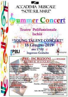 """""""SUMMER CONCERT"""" 2019 -ACCADEMIA MUSICALE NOTE SUL MARE"""