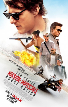 Mission: Impossible - Rogue Nation (2 spettacoli)