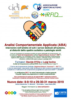 CIDI - Analisi Comportamentale Applicata (ABA)