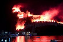 Incendio del Castello Aragonese