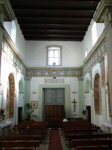 Interno chiesa San Carlo Madonna della Libera Forio