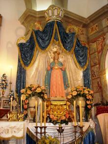 Statua della Madonna della Libera Forio