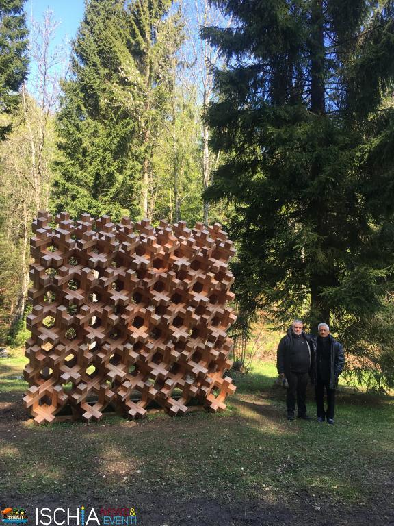Forest Byobu in Arte Sella