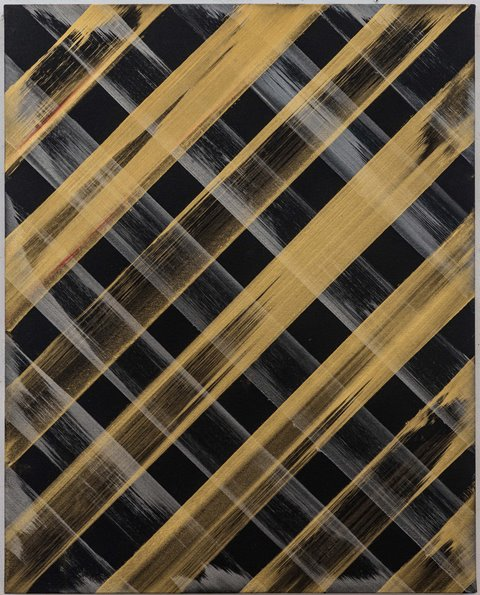 Ed Moses Gold Blk OK Cube 2 2013