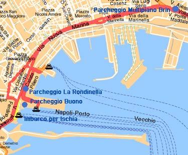 Ischia news ed eventi parcheggi custoditi a napoli e - Partenza da calata porta di massa ...