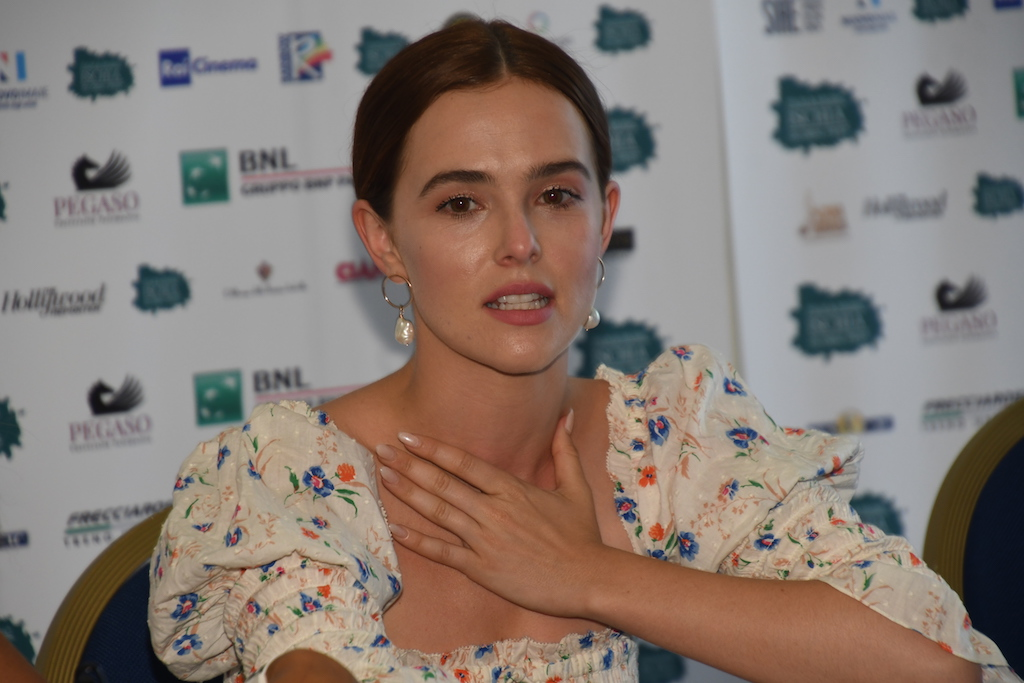 Conferenza stampa con Zoey Deutch