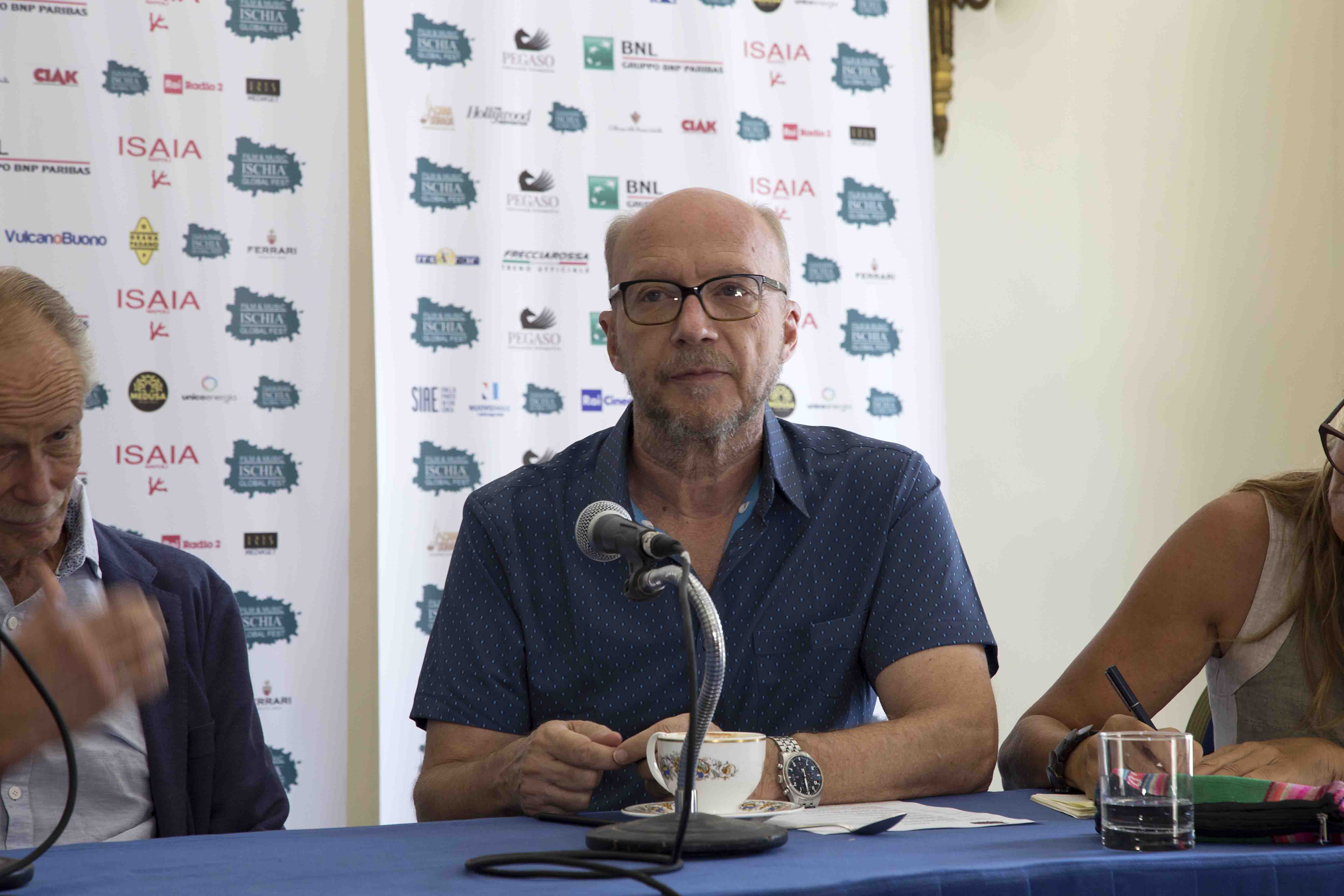 Ischia Global Fest - World Script Market - Paul Haggis  - conferenza stampa del 17 Luglio