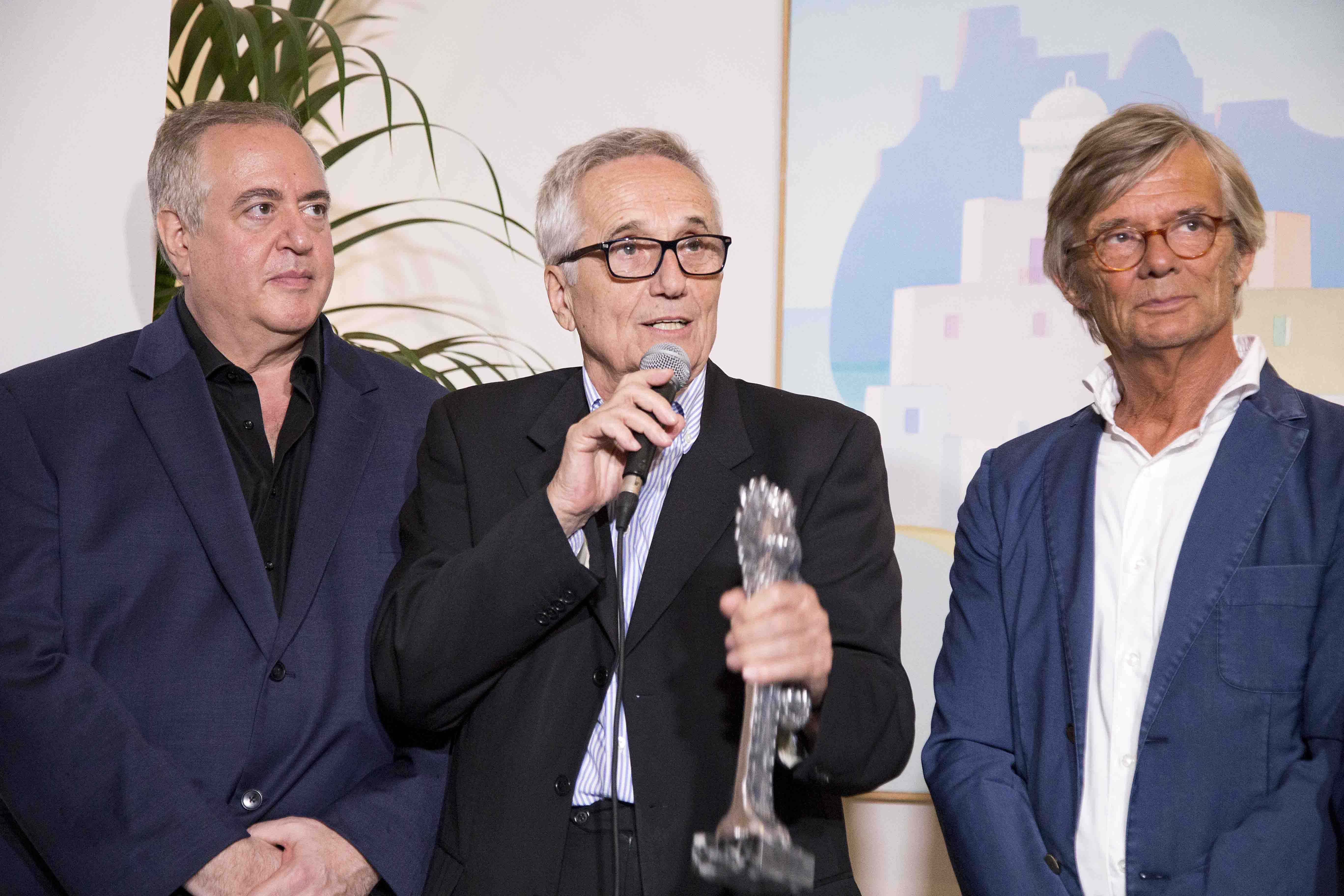 Premiazioni Ischia Global Fest - Vallelonga, Bellocchio e August
